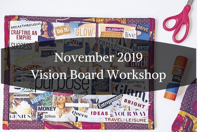November 2019 Vision Board Workshop