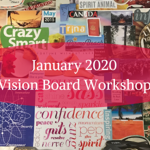 January 2020 Vision Board Workshop