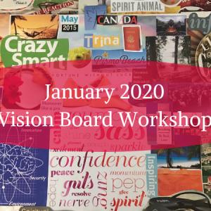 January 2020 Vision Board Workshop
